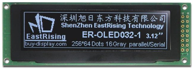 serial_oled_module_price_3.2_display_256x64_screens_white_on_black