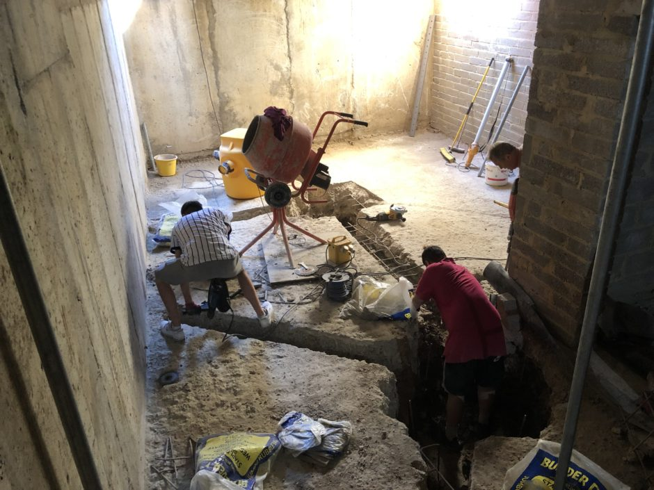 Self Build – Basement waterproofing with the Delta Cavity