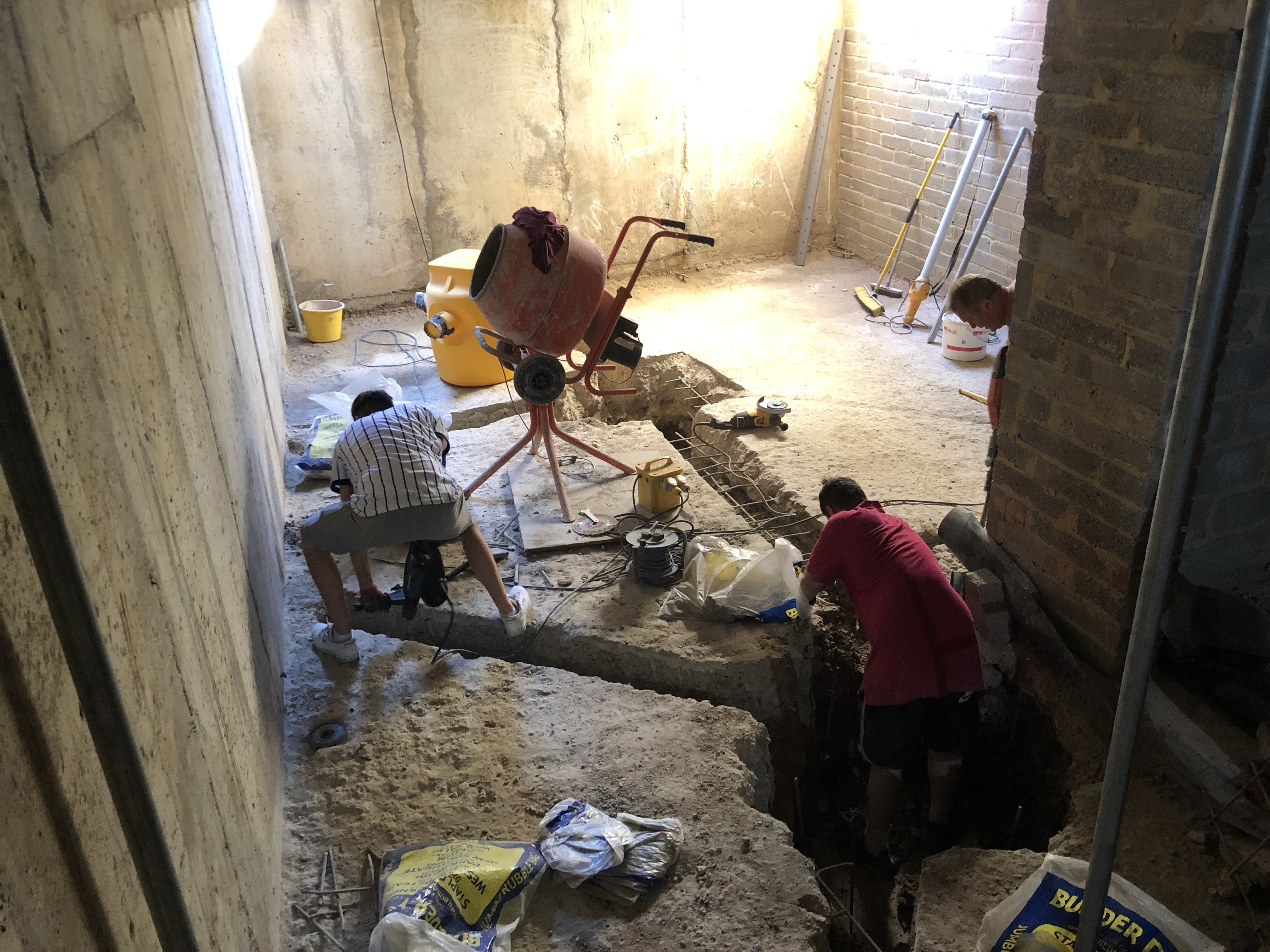 Self Build – Basement waterproofing with the Delta Cavity Drain